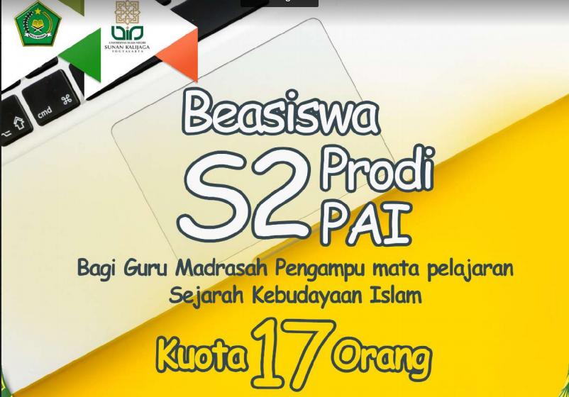 Beasiswa S2 PAI