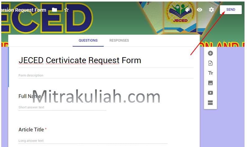 Cara Mudah Embed Google Forms Responsive di Blog