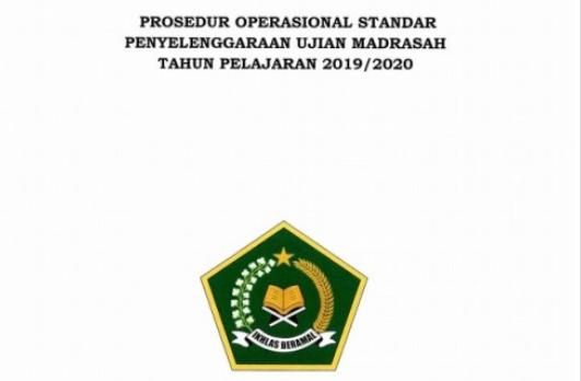 Prosedur-Operasional-Standar-Penyelenggaraan-Ujian-Madrasah-Tahun-Pelajaran-2019-2020