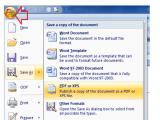Cara Menyimpan Ms Word ke format PDF