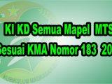 KI-KD-Semua-Mapel-MTs-Sesuai-KMA-183-tahun-2019