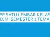 RPP-Satu-Lembar-Kelas-3-SD-MI-Semester-2-Tema-5