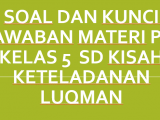 Soal-dan-Kunci-Jawaban-Materi-PAI-Kelas-5-SD-Kisah-Keteladanan-Luqman
